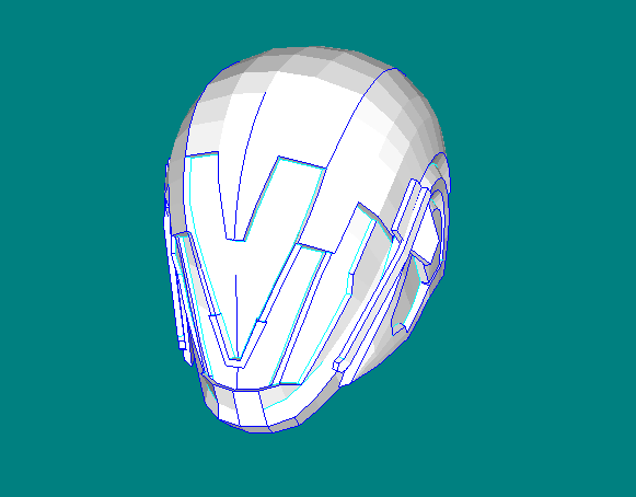 Destiny Nerigal Savant Iii Helmet Papercraft Free Template Download Paper Crafts Helmet Destiny Helmet