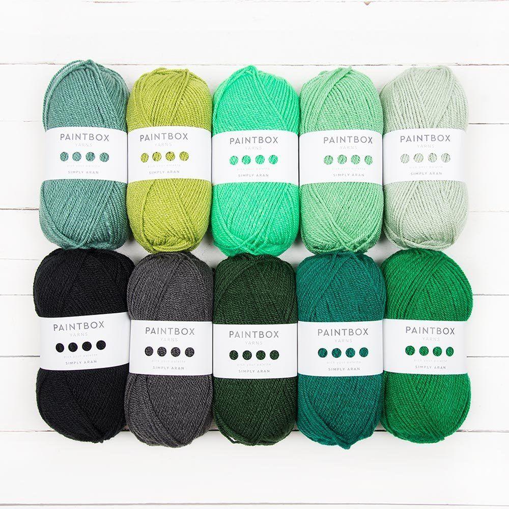 Paintbox Yarns Simply Aran Colour Pack   Yarn, Thread, Ribbon ...