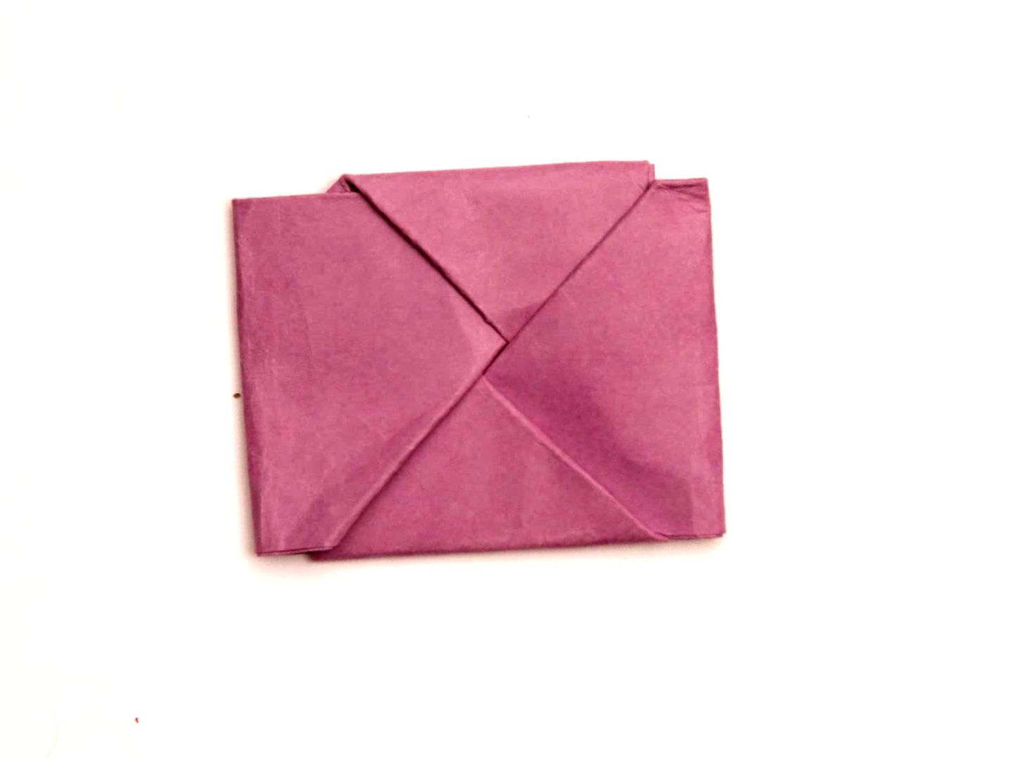 fold paper into a secret note square squares note and messages