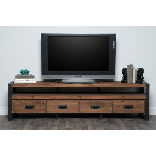 Found It At Joss Main Ellis Media Console Kosas Home Tv Stand Wood Reclaimed Wood Tv Stand