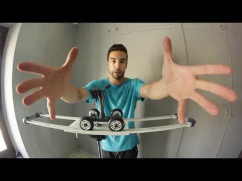 DIY Slider Casero o Trolley Dolly - YouTube