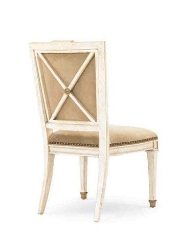 Hickory White X Back Side Chair Choice Of Finishes And Fabrics