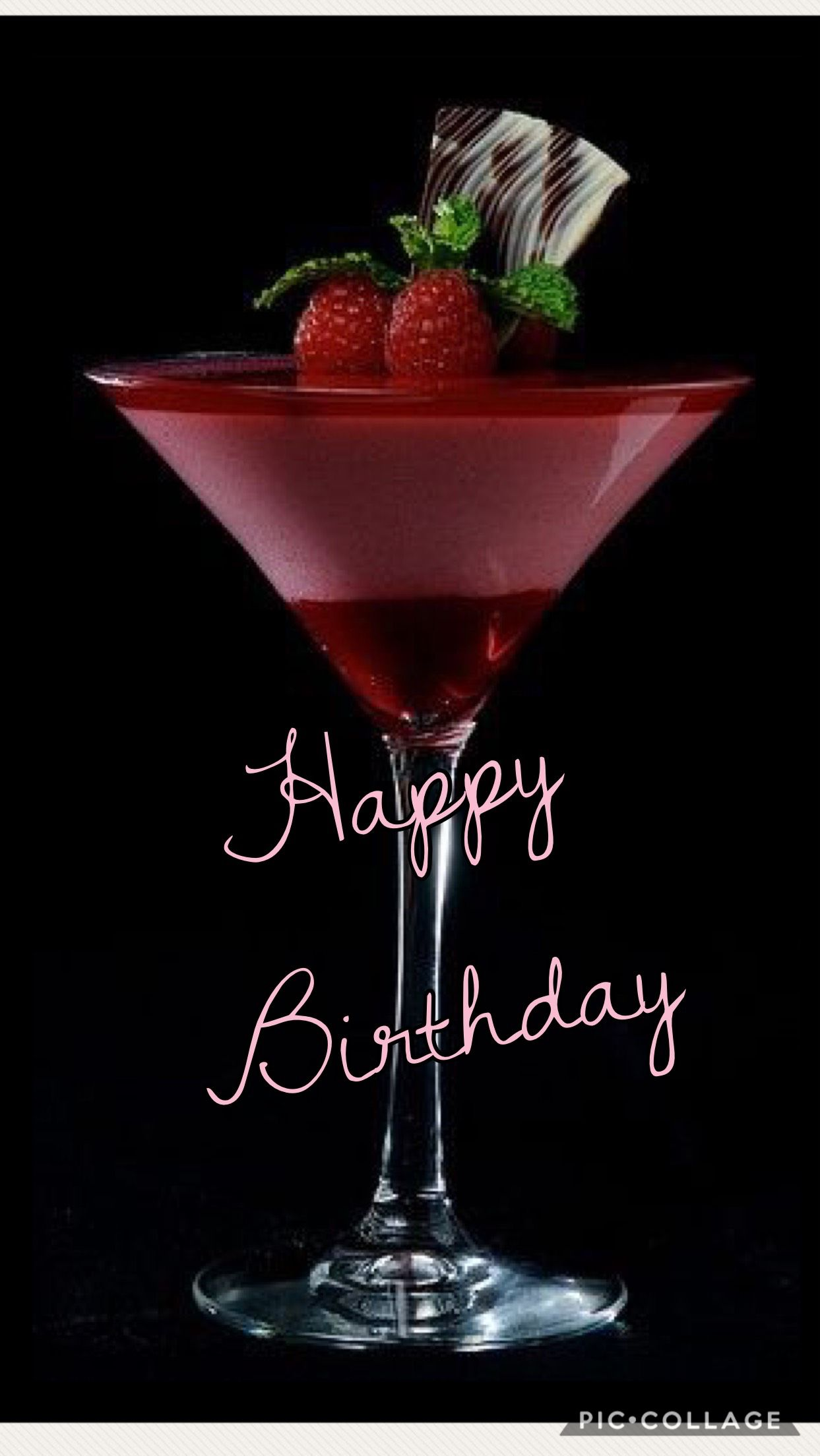 Pin By Maree Tidey On Happy Birthday Free Happy Birthday Cards Happy Birthday Cocktail Happy Birthday Cards