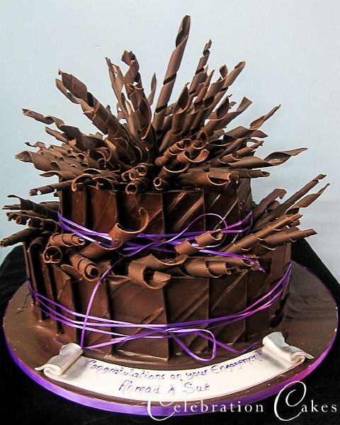 chocolate shard cake 2 Cakes Chocolade Pinterest Chocolate