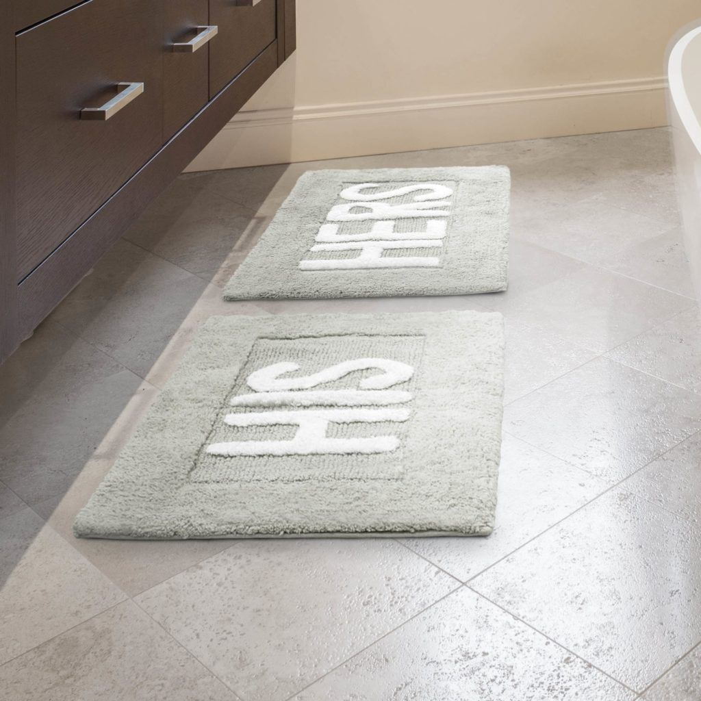 His And Hers Bathroom Rugs Bath Rugs Sets Bath Rug