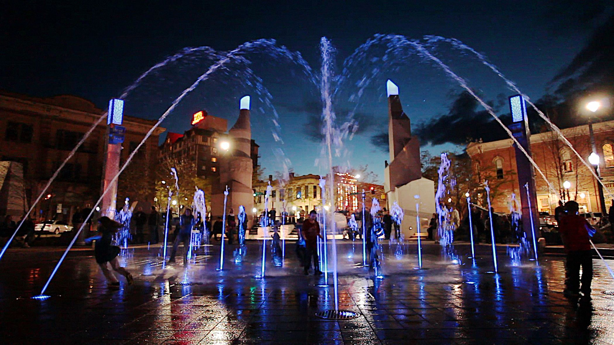 Watch Rapid City Come To Life At Night Check Out Nightly Events On Our Website South Dakota Vacation Black Hills South Dakota Rapid City South Dakota