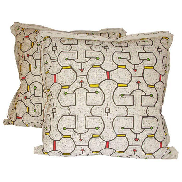 First Dibs Shipibo Pillows #Peru | Peru | Pinterest | Pillows