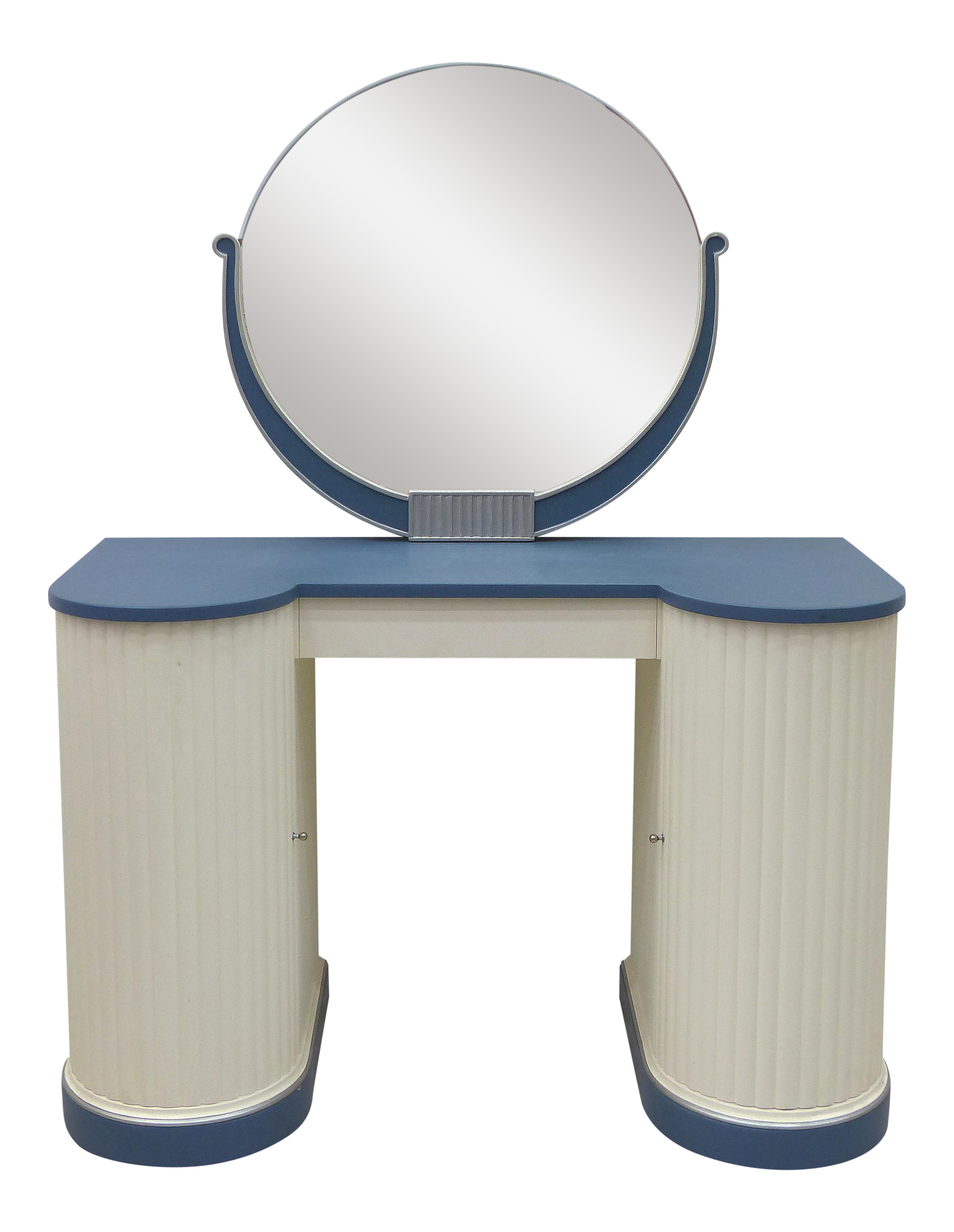 Kittinger Art Deco Vanity With Mirror on Chairish
