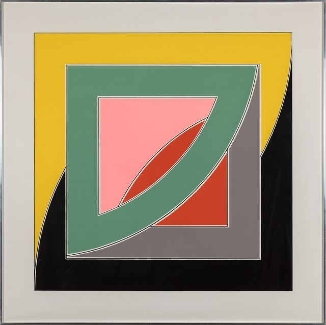 American Abstract Artist Frank Stella