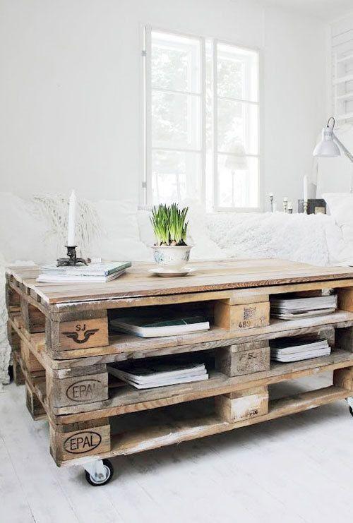 Recicla y decora con palets 29 ideas imperdibles Pallets, Pallet - ideas con palets