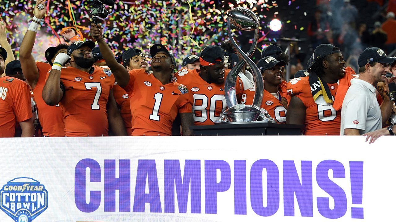 Clemson defeats Notre Dame 303 in NCAA Cotton Bowl Fox