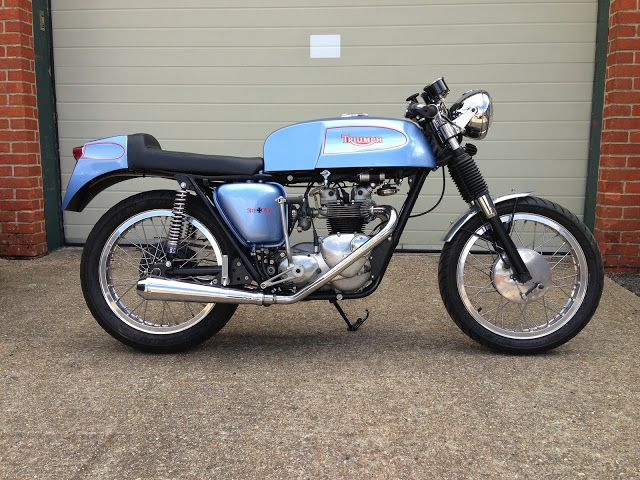 "Triumph ""Tiger T90 Cafè Racer"" by Red Max Speed Shop"
