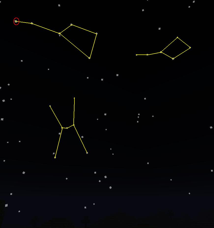 Orion's Belt Big Dipper | real life constellations big ...