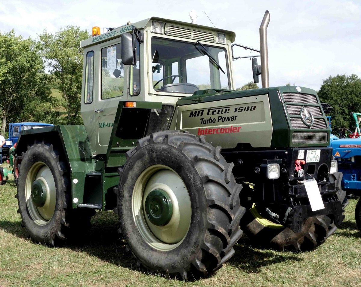 mercedes benz mb trac 1500 turbo tractor mania. Black Bedroom Furniture Sets. Home Design Ideas