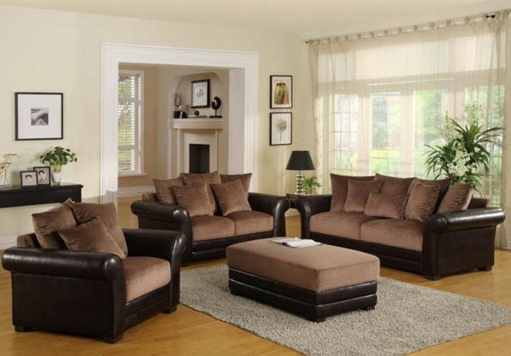 Living Room Walls With Brown Furniture, Brown Furniture Living Room Colors