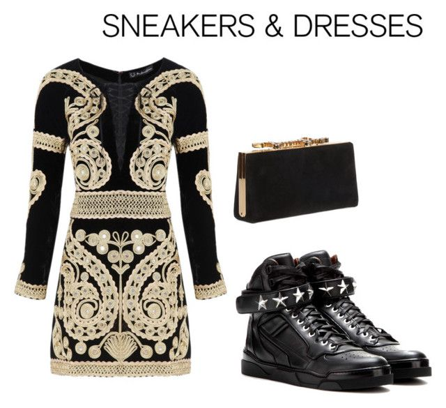 """""""sneakers&dresses III"""" by lov3story on Polyvore featuring Mode, For Love & Lemons, Givenchy, Jimmy Choo, contest, contestentry und SNEAKERSANDDRESSES"""