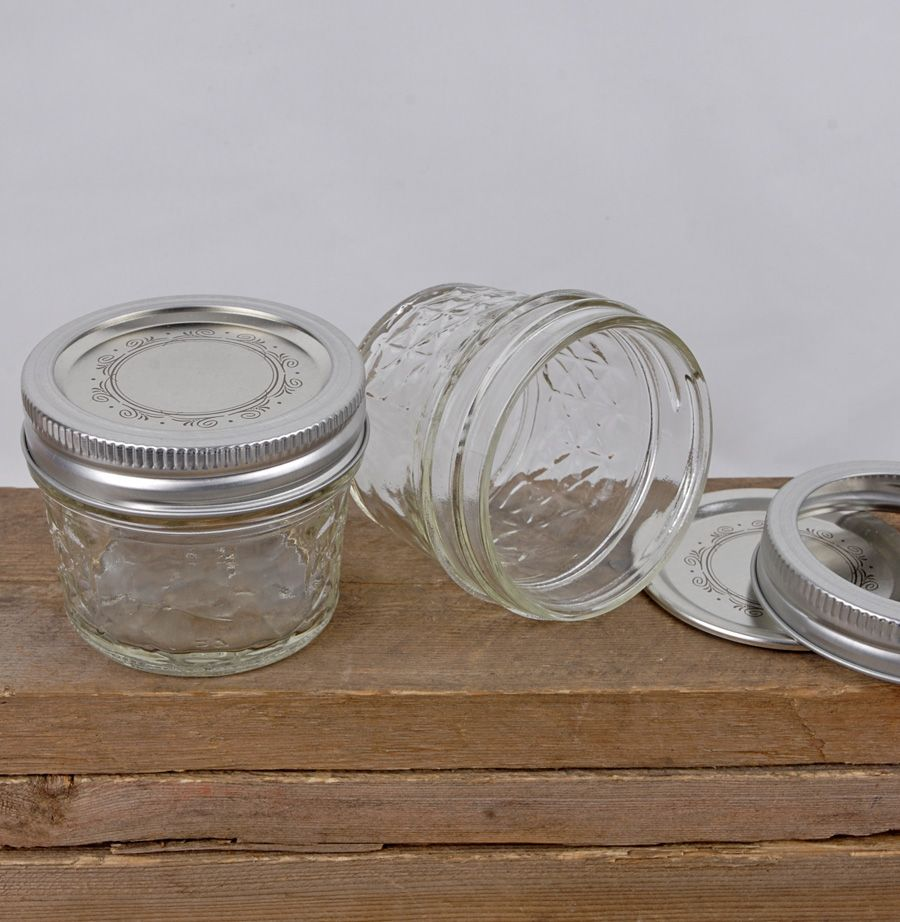 12 Ball 4oz Quilted Jelly Jars | Jelly jars, Jar and Favors : quilted jam jars - Adamdwight.com