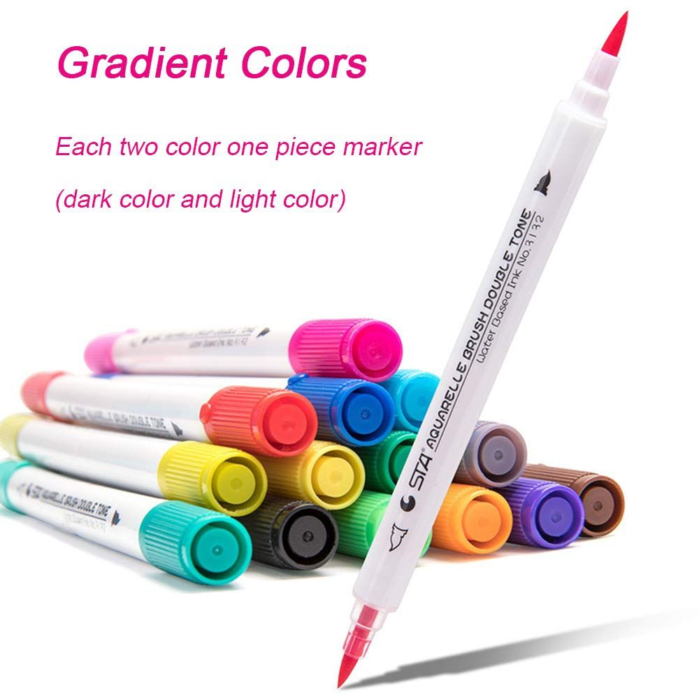 Tombow Dual Brush Pens Which Make It Easy To Add Beautiful Colors