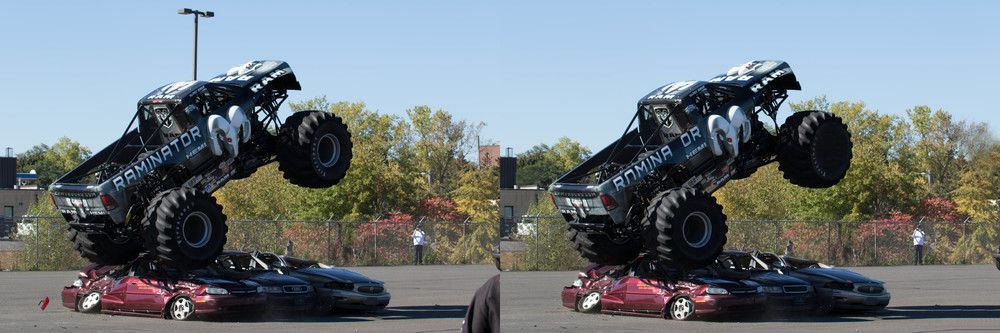 The Raminator Crushing Cars Just For Fun Can You Find The