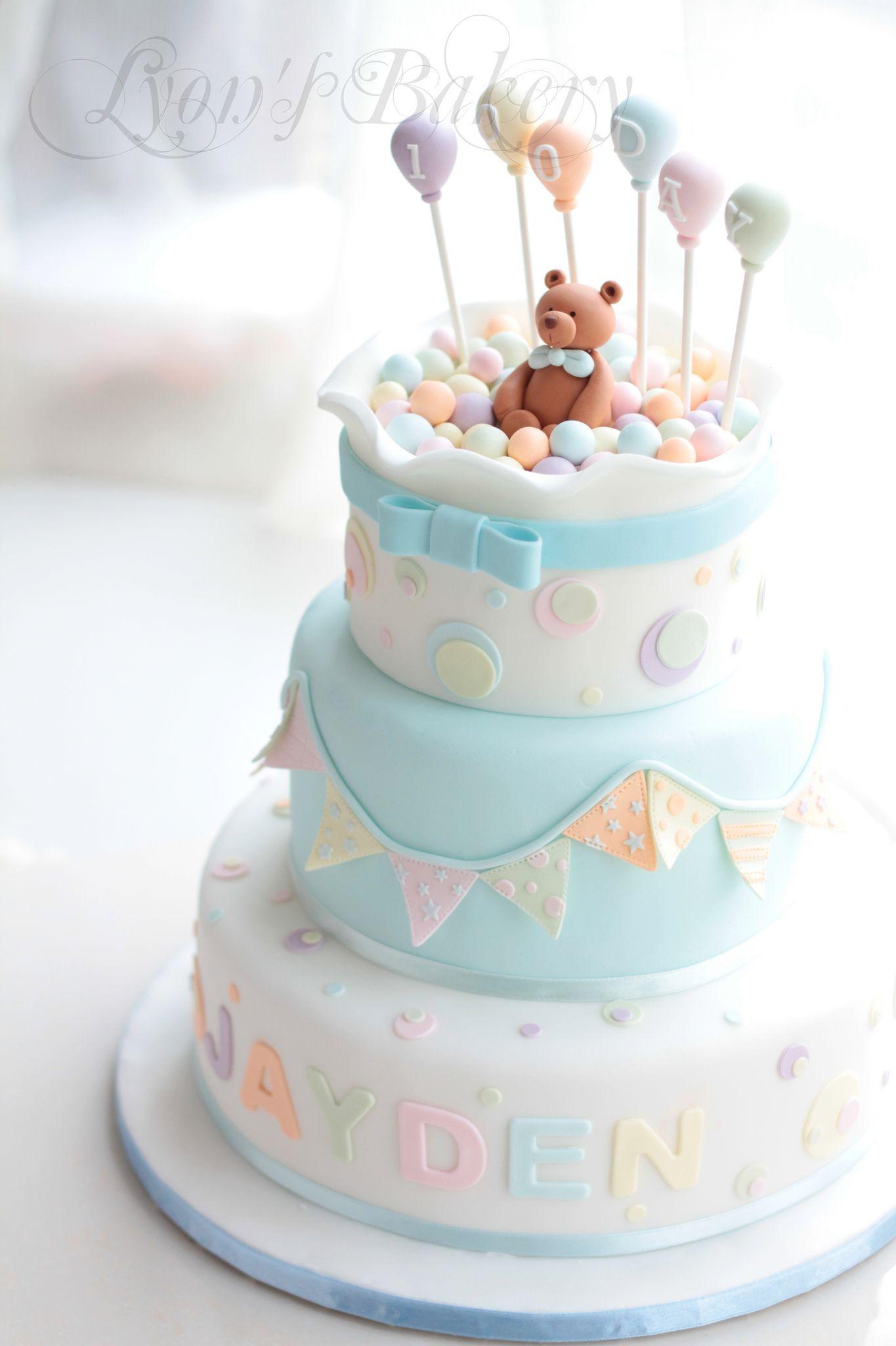 Bear in ball pool g teaux b b g teau et decoration gateau - Decoration gateau anniversaire enfant ...