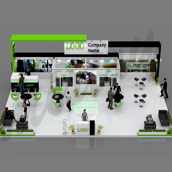 Exhibition Stand 3d Model : Exhibition booth 3d model. room 3d model. #3d #3dmodel #3ddesign