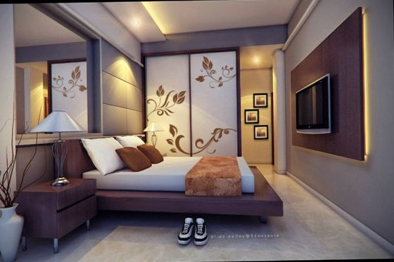 Contemporary art nouveau in the bedroom Best of Interior Design
