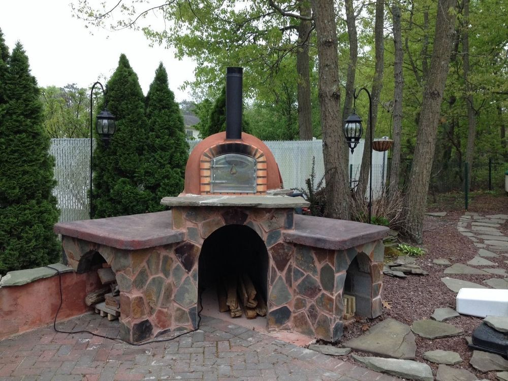 Brick Pizza Oven, Outdoor, Insulated, Wood Fired, Made In Portugal