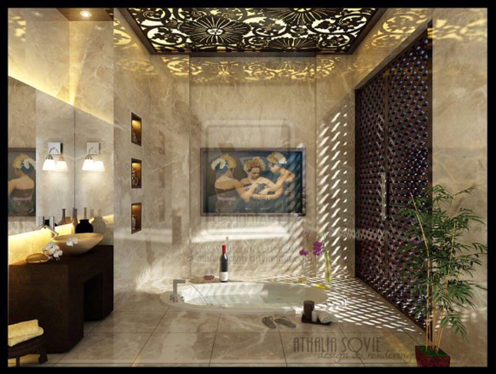love the ceiling light | Cinderella Bathroom Ideas | Pinterest ...
