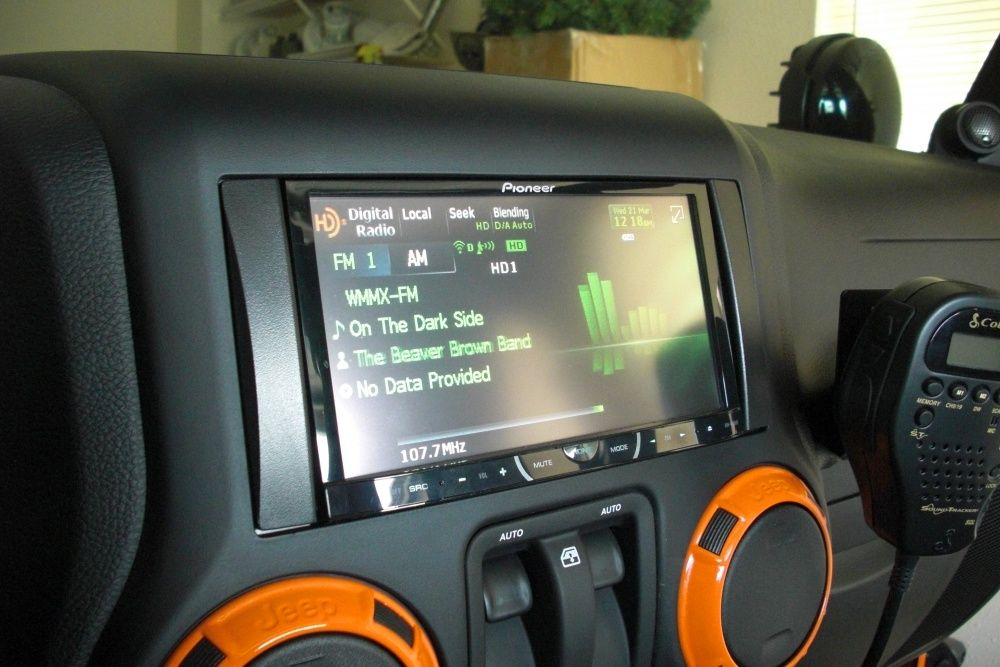 Exceptional Awesome Jeep Wrangler Aftermarket Navigation System