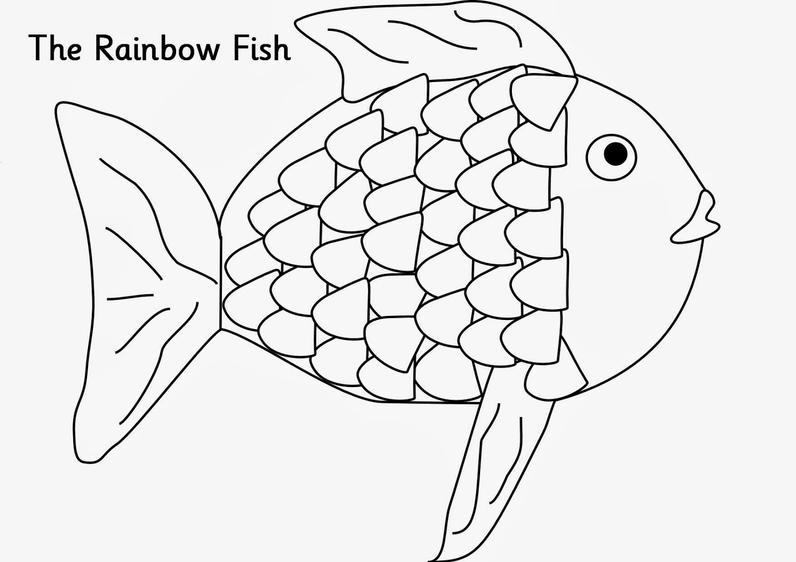 rainbow drawings pages | ... drawing wallpapers cute fish for kid ...
