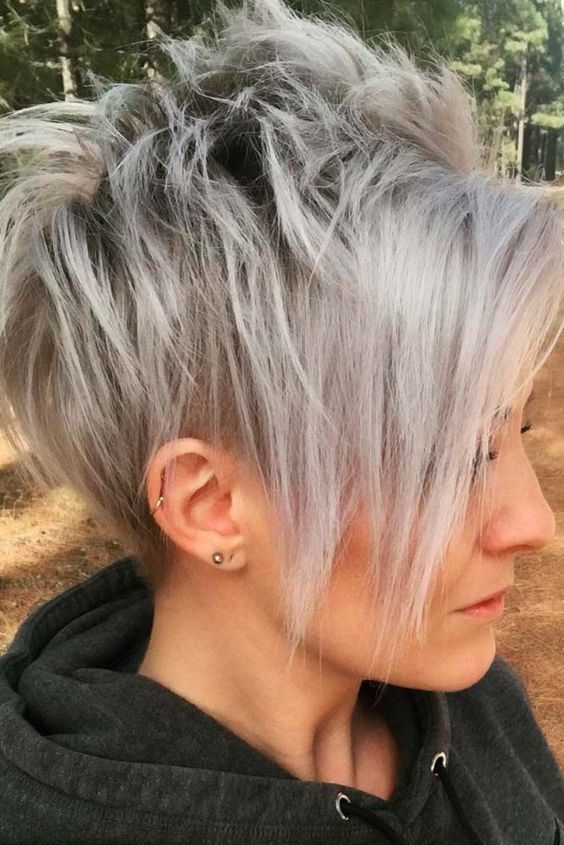 Ideas Of Wearing Short Layered Hair For Women   Lo
