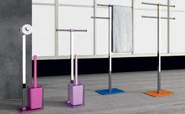Scopini Da Bagno Ikea : Piantane bagno portasciugamani porta rotolo e scopino wc