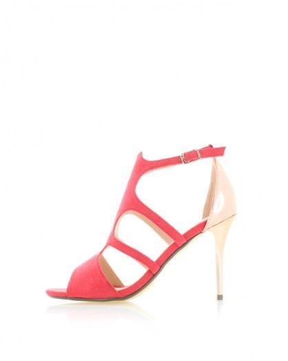 Červené sandále Penelope