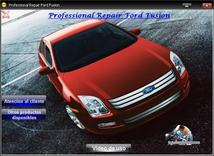 manual de taller y reparaci n profesional ford fusion 2007 2010 ford rh pinterest co uk repair manual 2007 ford fusion manual for ford fusion 2007