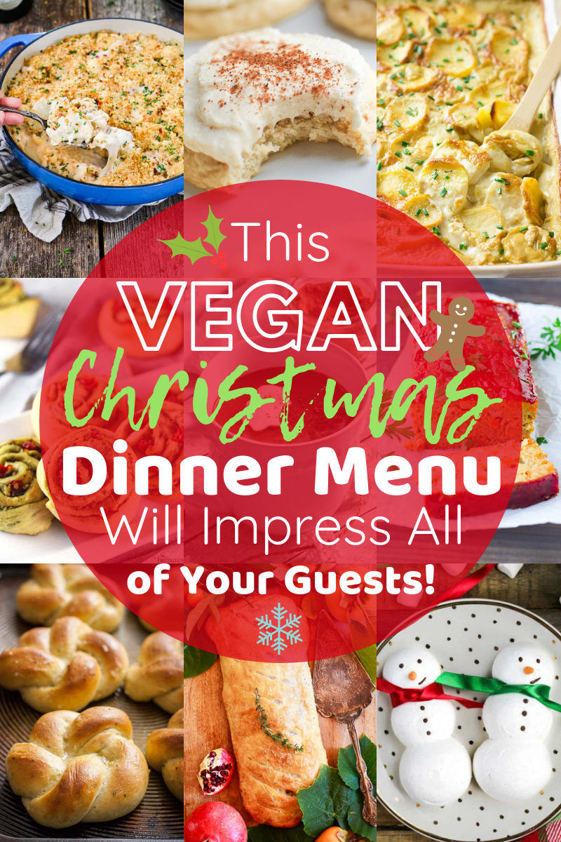 Your Search Is Over Every Recipe That You Need To Make The Best Vegan Christmas Dinner Is Vegan Christmas Recipes Vegan Christmas Dinner Christmas Food Dinner