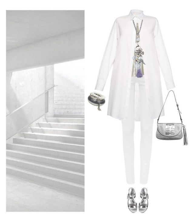upstairs by pure-emotion-by-violetta on Polyvore featuring polyvore fashion style MSGM Michael Kors Kate Spade Desti Saint Charming Life clothing