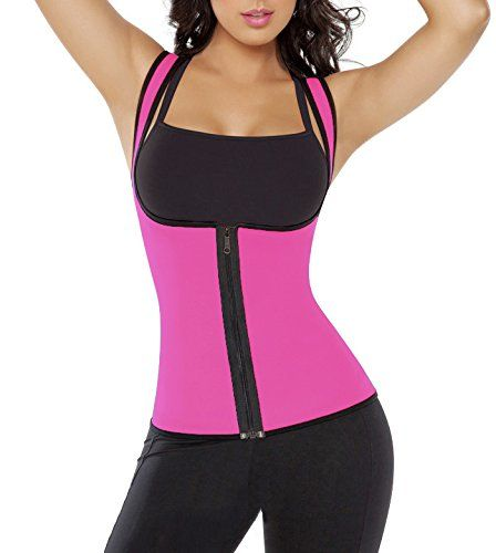 Slimming Top Waist Trainer Belt Women Firm Tummy Control Body Shaper Sauna Vest