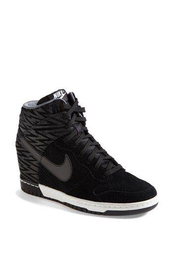 Nike 'Dunk Sky Hi' Wedge Sneaker (Women