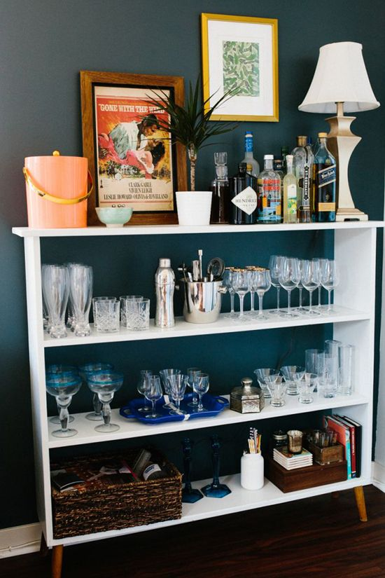 Organize with Bookshelves: Bar