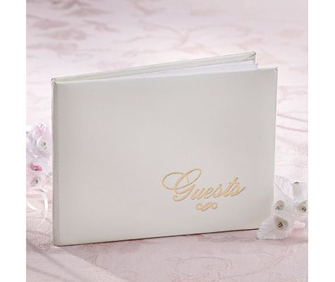 Ivory Wedding Guest Book Wedding Reception Accessories Weddings