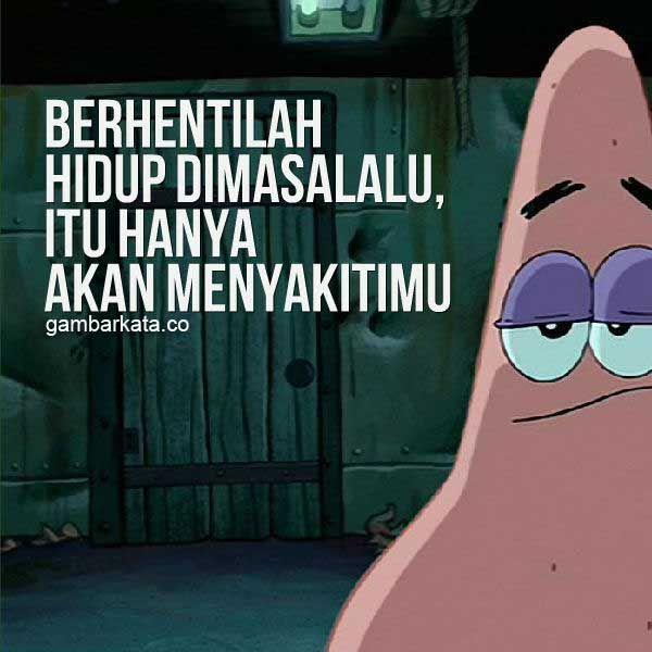 Gambar Kata Kata Bijak Patrick Star Spongebob Spongebob