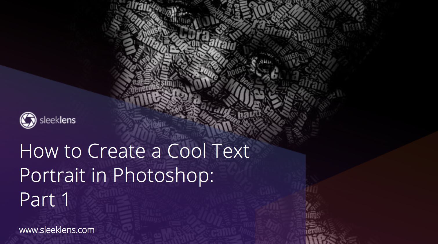 How to create a cool text portrait in adobe photoshop photoshop how to create a cool text portrait in adobe photoshop baditri Choice Image