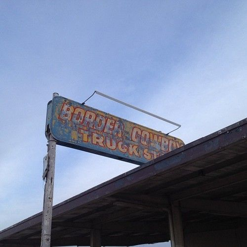 Old Truck Stop Lordsburg Nm With Images Lordsburg Gas