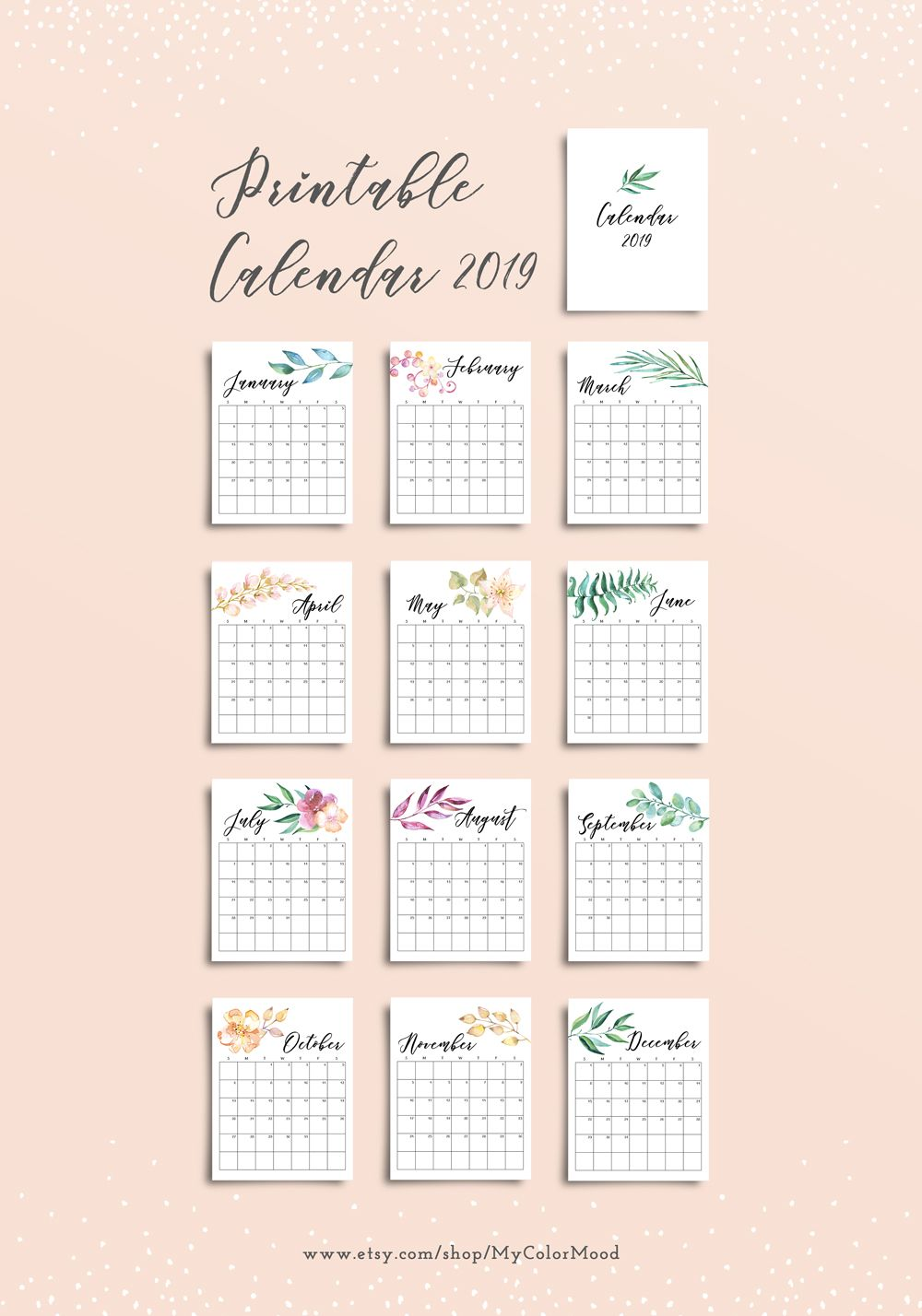 Wedding decorations at home january 2019  desk calendar printable calendar pages Printable monthly
