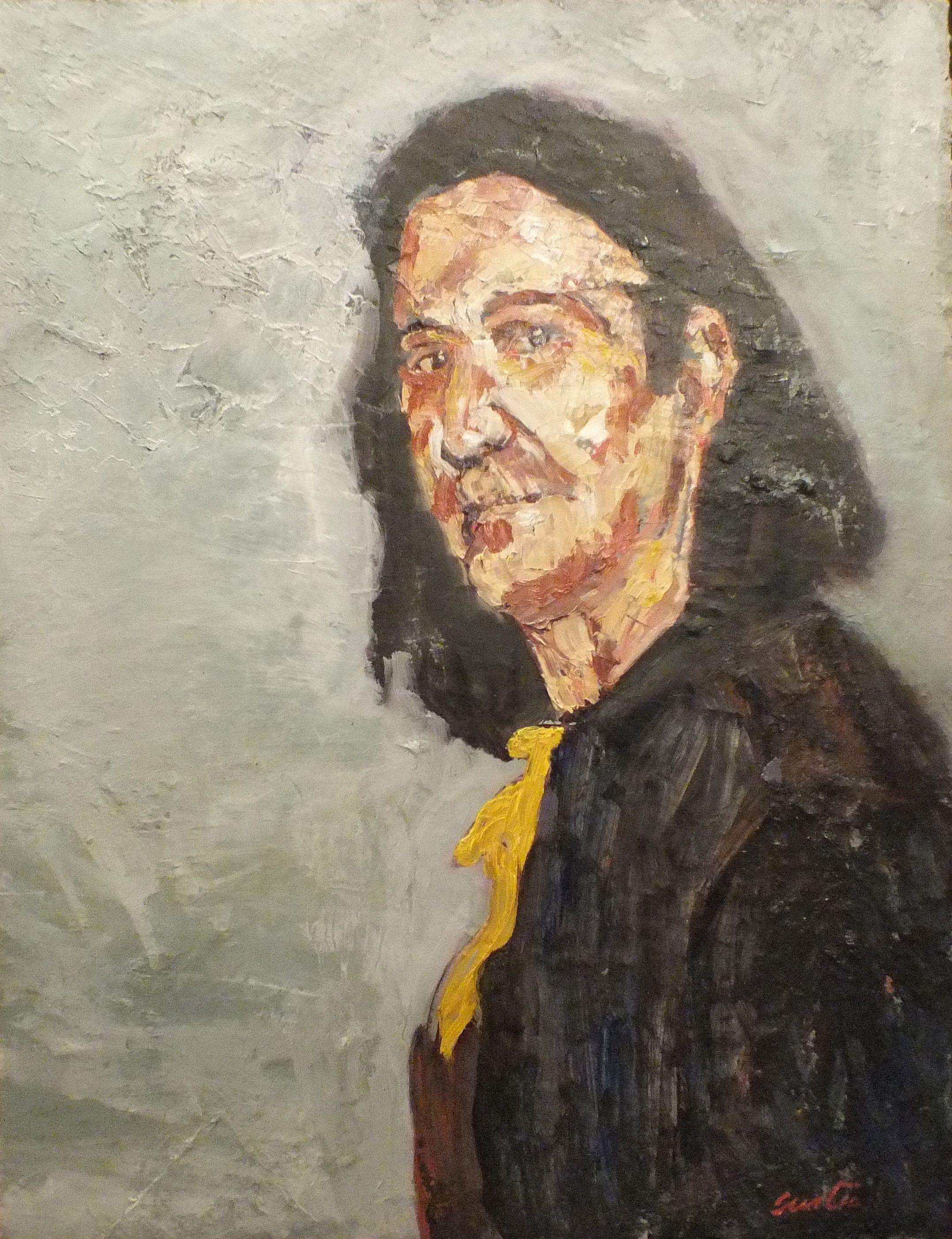"""Phillip, Oil on Canvas, 26 x 28"""" 2014"""