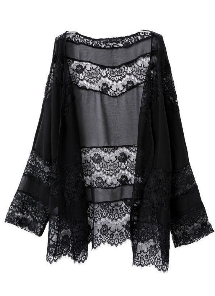 Kimono Long Noir 2