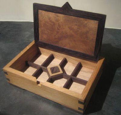 Handmade Oak And Wenge Jewellery Box Wooden Box Designs Wood Jewelry Box Wooden Jewelry Boxes