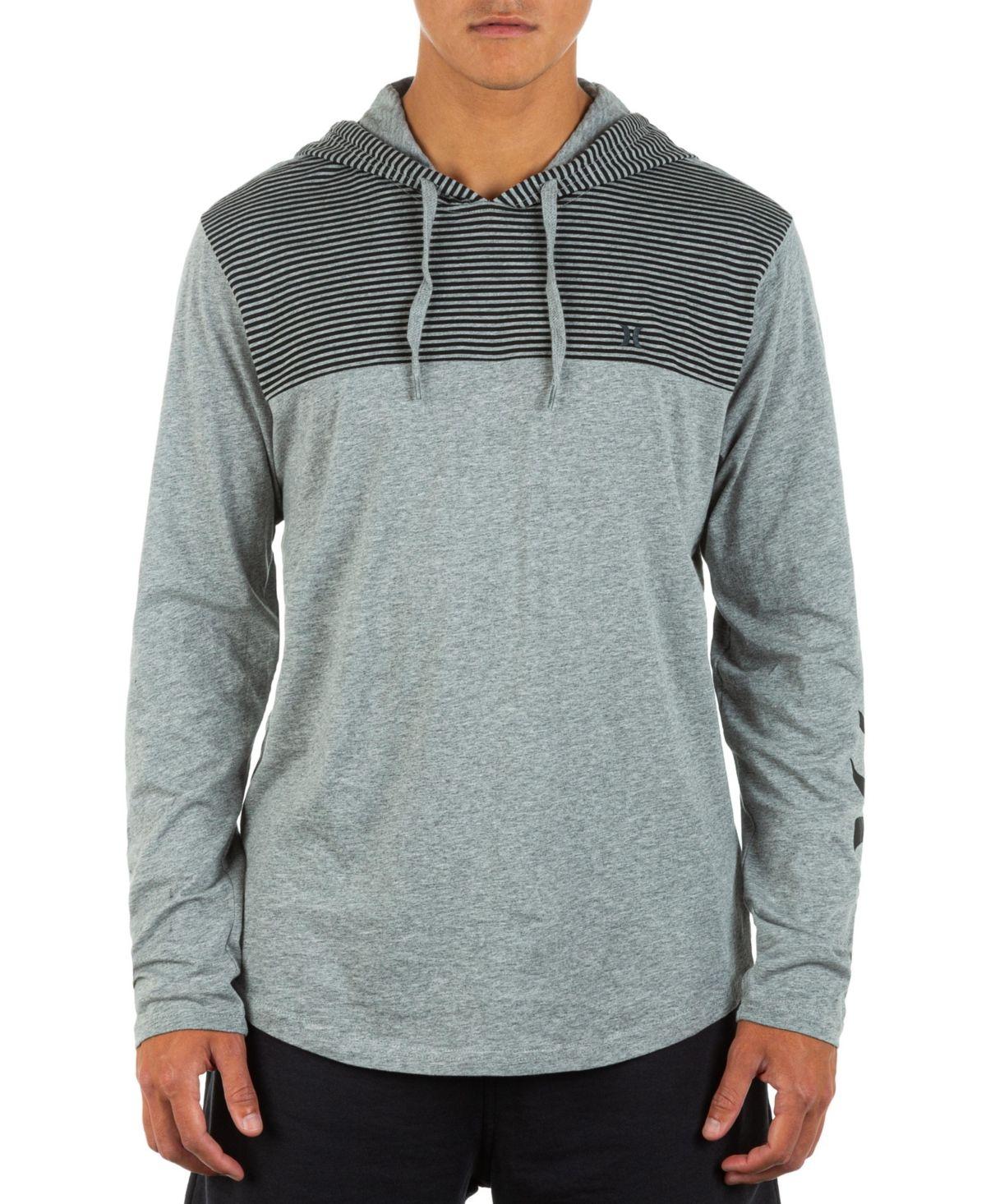 Hurley Men S Oao Blocked Long Sleeve Hoodie Reviews Hoodies Sweatshirts Men Macy S Hoodies Long Sleeve Hoodie Mens Clothing Styles [ 1466 x 1200 Pixel ]
