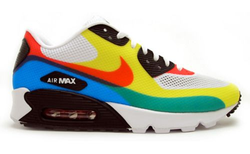 air max 90 hyperfuse bianche