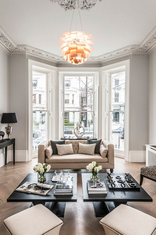 Decorating With French Gray Living Room